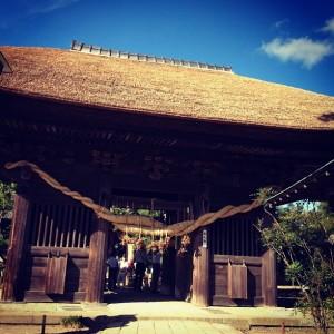 龍正院(滑河観音)の仁王門